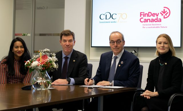 FinDev Canada and CDC team collaboration